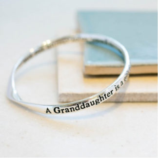 image of Message Bangle Grandaughter