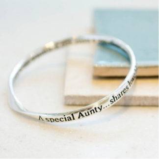 image of Message bangle Special Aunty