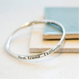 image of Message Bangle Best Friend