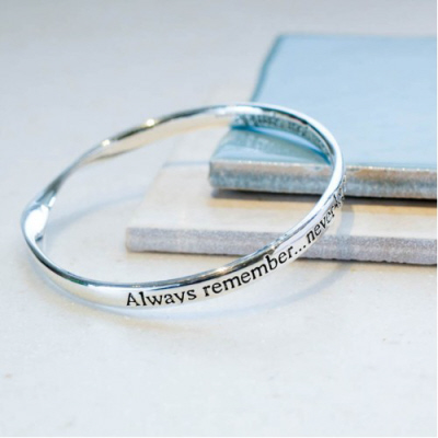 image of Message bangle Sparkle