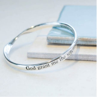 image of Message bangle Serenity