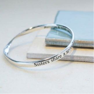 image of Message bangle Sister Bond