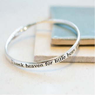 image ofMessage bangle Thankheaven
