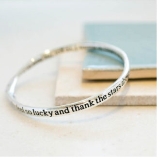 image of Message bangle Mum Thank Stars