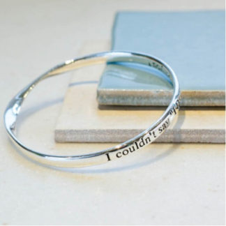 image of Message bangle I do..