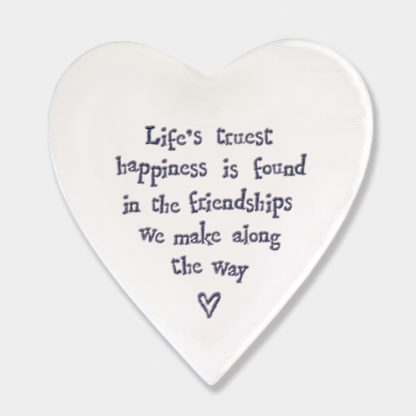 image of heart coaster life's truest Happiness