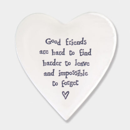 image of Heart Coaster Good Friends