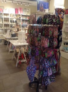 image of eco shopper bags on stand