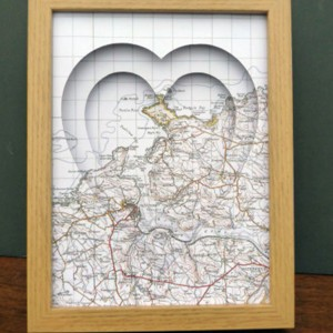 Heart Shaped Picture Maps Archives  All Of My Heart