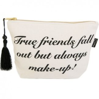 image of true friends make up bag