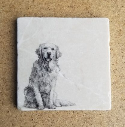 Image of Golder Retriever Coaster