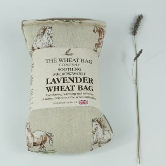 image of Microwavable Wheat Bag – English Lavender Scent – Horses by The Wheat Bag Company.