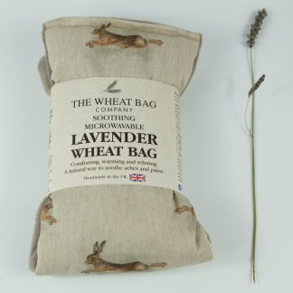 image of Microwavable Wheat Bag – English Lavender Scent – Running Hares
