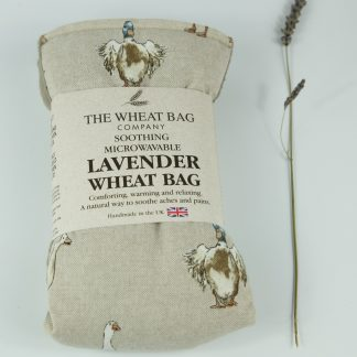 image of Microwavable Wheat Bag – English Lavender Scent – Ducks