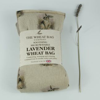 image of Microwavable Wheat Bag – English Lavender Scent – Rabbit