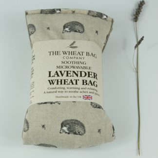 image of Microwavable Wheat Bag – English Lavender Scent – Hedgehogs