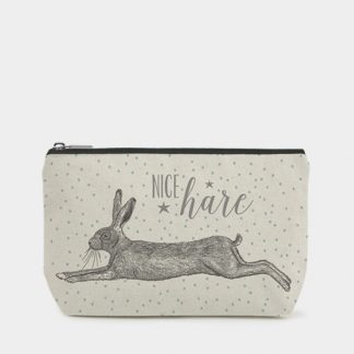 image of make up bag nice hare by east of india