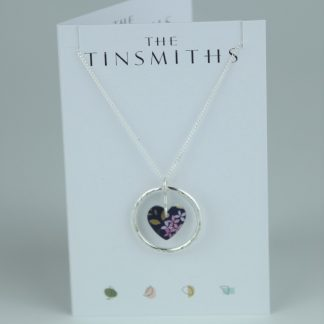 image for The Tinsmiths Kyoto Blue Circle of Life Pendant