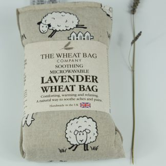 image of Microwavable Wheat Bag – English Lavender Scent – Sheep
