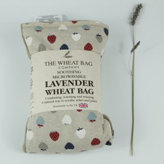 image of Microwavable Wheat Bag – English Lavender Scent – Strawberries