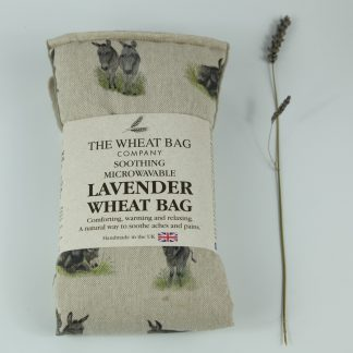 image of Microwavable Wheat Bag – English Lavender Scent – Donkey by The Wheat Bag Company