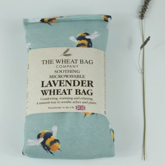 image of Microwavable Wheat Bag – English Lavender Scent – Bumble Bee