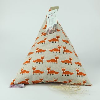 image of PADi Pillow - Foxes - The Wheat Bag Company for iPad's, & books!
