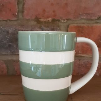 image of Green Cornishware 12oz Mug