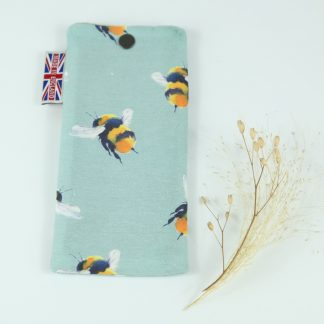 image of Bumblebee Glasses Case by The Wheat Bag Company