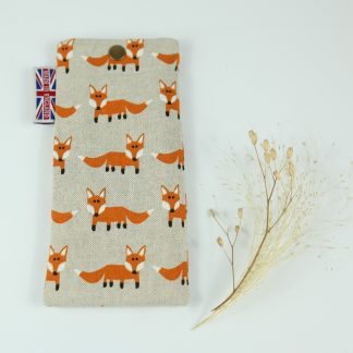 image of Foxes Glasses Case by The Wheat Bag Company