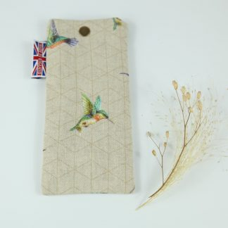 image of Hummingbird Glasses Case by The Wheat Bag Company
