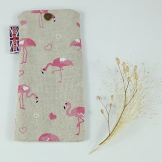 image of Flamingo's Glasses Case by The Wheat Bag Company