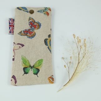 image of Exotic ButterfliesGlasses Case by The Wheat Bag Company