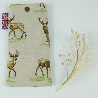 image of Country Stag Glasses Case by The Wheat Bag Company