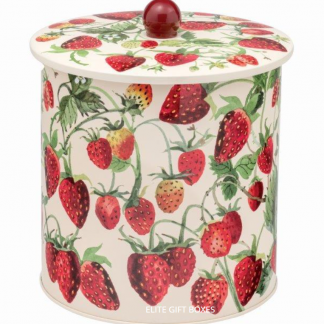 image of Emma Bridgewater - Strawberry Biscuit Tin