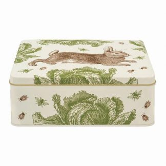 image of Thornback & Peel Rabbit & Cabbage Deep Rectangular Tin