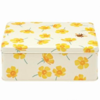 image of Emma Bridgewater Buttercup Deep Rectangular Tin