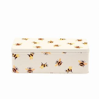 image of Emma Bridgewater - Bumblebee Long Deep Rectangular Tin
