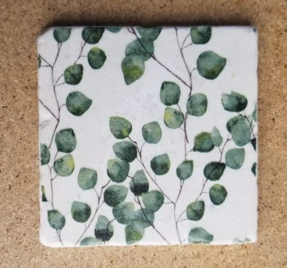 image of Baby Green Leaves Coaster