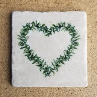 Image of Spring Heart Coaster